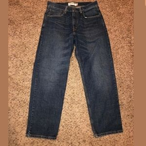 Levi's 32 x 30 relaxed fit 550 Strauss blue jeans